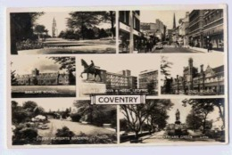 COVENTRY  Multivieiw Card - Angleterre