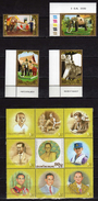 Thailand 2007 The 80th Anniversary Of The Birth Of H.M. The King.elephants Serial.MNH - Thaïlande