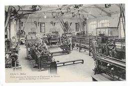 VIENNE  (cpa 38) Ecole Pratique De Commerce Et D'industrie, Atelier De Cordage Et De Filature, Machine PLATT  -    - L 1 - Vienne