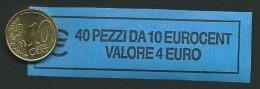 ITALIA  2015 - ROLL 10 CENT  ORIGINALE ZECCA - DATA VISIBILE - FDC - Rotolini