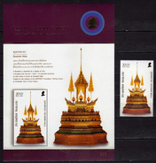 Thailand 2007 Arts Of The Kingdom.S/S And Stamp.MNH - Thaïlande