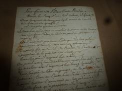 Av.  1800 : RECETTES ADMIRABLES ----> Pour Faire De L'excellent BOUDIN; Manière De Cuire Le JAMBON - Manuscripts