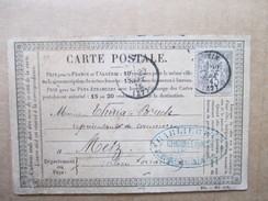 NORD  59     BREUVAGES PAR ANZIN    ( EXPEDIE DE .....  )   PRECURSEUR DE 1876  CHICOREE DU NORD    TTB - Anzin