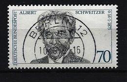 BUND Mi-Nr. 830 - 100. Geburtstag Von Dr. Albert Schweitzer Gestempelt - Gebraucht