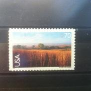 United States 2001 Scott #C136 ** Nine-mile Prairie, Nebraska, 70 C - Etats-Unis