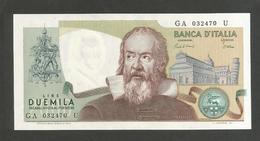ITALIA - 2000 Lire GALILEO - (Firme: Ciampi / Stevani) - Repubblica Italiana - [ 2] 1946-… : Repubblica
