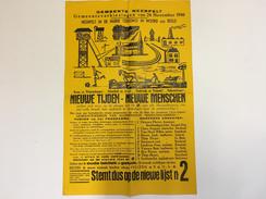OUDE AFFICHE 1946 Neerpelt Gemeenteverkiezingen - Affiches