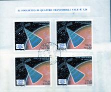 PIA  -  ITALIE  -  2005 :  Partecipazione Italiana All´ Esplorazione Di Marte  -     (SAS  Bf 41 ) - Blocs-feuillets