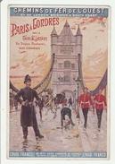 London - Pub Chemins De Fer De L'ouest Paris à Londres Via Dieppe Newhaven - Pont Bridge - Sonstige