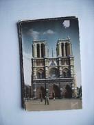 Frankrijk France Frankreich Parijs Paris Notre Dame  Et Hommes - Notre-Dame De Paris