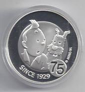 BELGIE -BELGIQUE EUROMUNT 10 Euro 2004 -  Kuifje 75 Jaar - Tintin 75 Ans - IN CAPSULE - Belgique