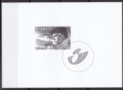 2004 Belgien, 3282, Willian Vance, Schwarzdruck, MNH **