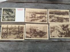 Lot De 5 Cartes Postales De Nieuwport Et 1 De Zeebrugge. 1914/1918 - Nieuwpoort