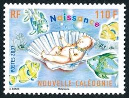 NOUV.-CALEDONIE 2007 - Yv. 1031 **   Faciale= 0,92 EUR - Naissance. Coquille Et Poissons  ..Réf.NCE23707 - Neufs