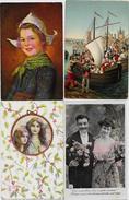 Lot N°103 De 100 CPA CPSM Fantaisies Illustrateurs Déstockage Pour Revendeurs Ou Collectionneurs PORT GRATUIT FRANCE - 100 - 499 Karten