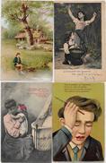 Lot 101 De 100 CPA CPSM Enfants Fantaisies Illustrateurs Déstockage Pour Revendeurs Collectionneurs PORT GRATUIT FRANCE - Postales