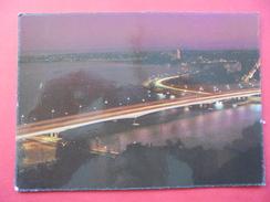 51358: AUSTRALIA: WESTERN AUSTRALIA: Perth - Narrows Bridge And City Skyline At Night. - Perth
