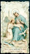 SANTINO - Beatissima Vergine Maria - Santino Antico Come Da Scansione - Images Religieuses