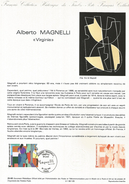 DOCUMENT 1986 VIRGINIA DE ALBERTO MAGNELLI - Documents Of Postal Services