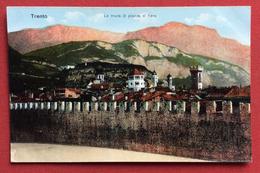 TRENTO LE MURA DI PIAZZA DI FIERA - ED.B.LEHRBURGER  - NURNBERG  NON VIAGGIATA - Trento