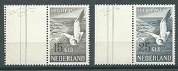 Olanda. Posta Aerea, UNIF 12/13, Gibbons 742/743, Scott C13/14 ** - Posta Aerea
