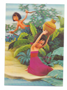 DISNEY - Mowgli And A Little Girl , 3D - Disney