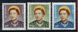 VIET-NAM - Empire - N° 14/16** - Impératrice Nam Phong - Emission De 1952 - Série Complète. - Viêt-Nam
