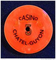 Jeton Du Casino De Chatel-Guyon Dans Le Puy De Dôme - 5 - Casino