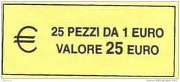 ITALIA  2015 - ROLL  1 EURO  ORIGINALE ZECCA - DATA VISIBILE - FDC - Rotolini