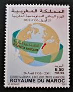 DIPLOMATIE MAROCAINE 2001 - NEUF ** - YT 1284 - MI 1384 - Marokko (1956-...)