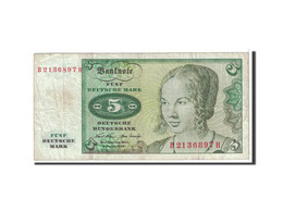 République Fédérale Allemande, 5 Deutsche Mark, 1970, KM:30a, TTB - [ 6] 1949-1990: DDR - Duitse Dem. Rep.