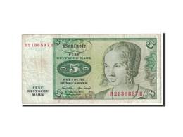 République Fédérale Allemande, 5 Deutsche Mark, 1970, KM:30a, TTB - 5 Deutsche Mark