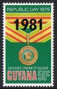 Guyana SG812 1981 Definitive 50c Unmounted Mint [17/16141/1D] - Guyana (1966-...)