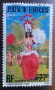 ♥ Polynésie Française YT PA 124 - Danseuse De Tahiti  - 1977- Oblitéré - Oblitérés