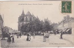LE NEUBOURG - Place Des Tilleuls - Marché Au Beurre - Animé - Le Neubourg