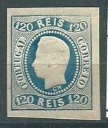 Portogallo, UNIF 25, Gibbons 46 * (Unif,2009 E,500) - 1855-1858 : D.Pedro V