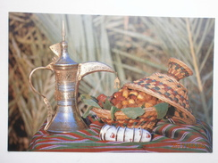 Postcard Ahlan Wa Sahlan An Arabian Welcome Of Coffee & Dates By Falcon Cinefoto Of Bahrain  My Ref B2512 - Bahrain
