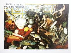 Postcard Recette De La Soupe De Poissons My Ref B2514 - Recipes (cooking)
