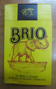 AC - BRIO CIGARS TOBACCO UNOPENED BOX FOR COLLECTION - Around Cigars
