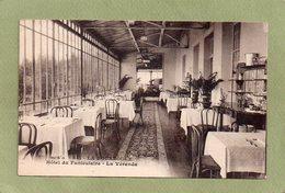 LA BOURBOULE  HOTEL DU FUNICULAIRE  VERANDA - La Bourboule