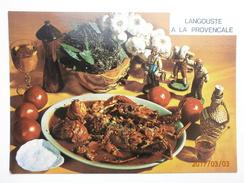 Postcard Langouste A La Provencale My Ref B2516 - Recipes (cooking)