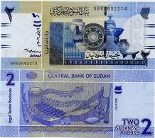 SUDAN       2 Sudanese Pounds      P-65      9.7.2006      UNC - Sudan
