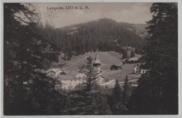 Langwies (1377 M) Kirche - Photo: R. Zinggeler - GR Grisons
