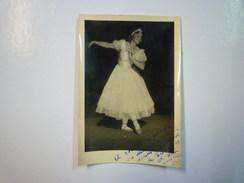 GALA  CHOPIN De  TARBES  3 Août 1943  :  Photo Dédicacée D'une Danseuse  XXX - Célébrités