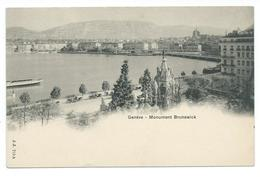 Geneva - Monument Brunswick - Undivided Back - J.J. 713 A. - GE Geneva