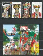 Thailand 2007 Phi Takhon Masks.S/S And Stamps.MNH - Thaïlande