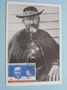 Père DAMIEN ( 1840-1889 ) Joseph De Veuster Apôtre Des Lépreux ( KIGALI - 31 Jan 1966 ) ! - Rwanda