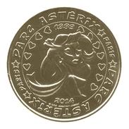 Monnaie De Paris ; Jeton Touristique 2014 , 60 Plailly , Parc Astérix , 1989-2014 , Falbala - 2014