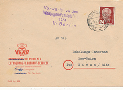 GROSSENHAIN - 1951 - Vorwärts Zu Den Weltfestspielen 1951 In Berlin  -  Propaganda - Machine Stamps (ATM)