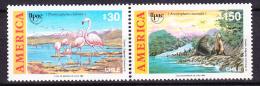 Chile - Chili 1990 Yvert 1003- 04, America UPAE, Fauna - MNH - Chile
